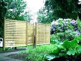 freestanding garden privacy screen free standing outdoor screens screening ideas deck acy panels full image for
