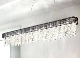 linear strand crystal chandelier z gallerie and acid green wall
