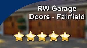 rw garage doorsRW Garage Doors  FairfieldGreatFive Star Review by Susie L  YouTube