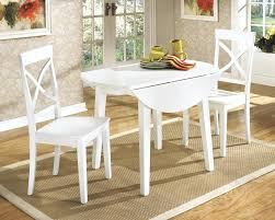 round white kitchen table with chairs image of white round drop leaf dining table white kitchen