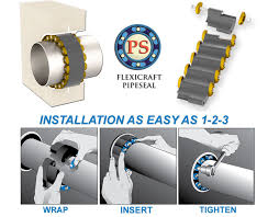 Flexicraft Pipe Penetration Seals