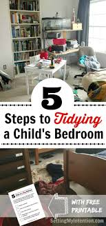 5 Steps To Tidying Childrenu0027s Bedrooms