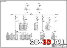 Электроснабжение ремонтно механического цеха чертежи и расчеты в  Дипломный проект Планировка ремонтно механического цеха Однолинейная схема питания ремонтно механического цеха
