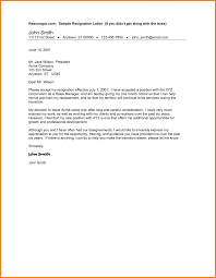 Writing A Resignation Letter 24 Writing A Resignation Best Of Resignation Letter Writing Sample 20