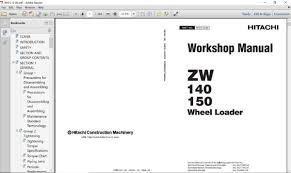 Hitachi Workshop Technical Manual All Models Full Set Epwars