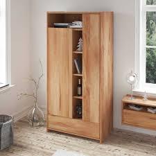 Schlafzimmer Kleiderschrank Aus Kernbuche Massivholz Mit Offenen