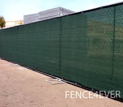 Terrific Green Olive Fence Screen Visibility Blockage Green Fence Screen  Privacy Windscreen Mesh Cover in Privacy