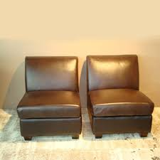 armless leather chairs. The Shop Armless Leather Chairs T