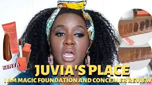 Juvias Place Foundation Concealer Swatches Review Dark