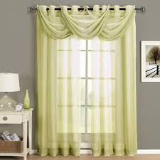 full size of lime green sheer grommet curtain 2 panels 3 scarf bronze curtain rods globe