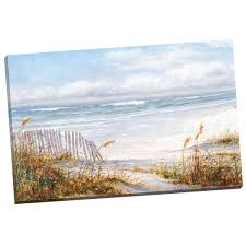 shop havenside home robin scott s beach fence portfolio wrapped canvas wall art 24 x 36 free shipping on orders over 45 overstock 10540507 on canvas wall art overstock with shop havenside home robin scott s beach fence portfolio wrapped