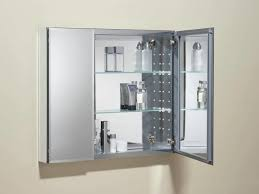 Bathrooms Cabinets Bathroom Mirror Cabinet With Lights And