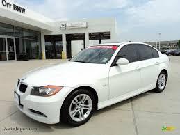 2008 BMW 3 Series 328i Sedan in Alpine White - L53833 | Auto Jäger ...