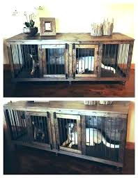 dog cage end table wood pet crate dog crate end table extra large cool dog crates dog cage end table modern end table dog crate furniture