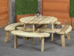 round tables for sale. Round Picnic Table Bench Tables For Sale