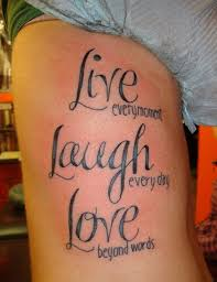 Good Tattoo Quotes Custom 48 Inspirational Quotes Tattoo Designs