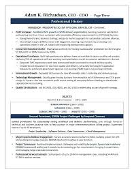executive resume service inssite