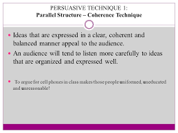 ela holy trinity high your task write a persuasive essay  8 persuasive technique