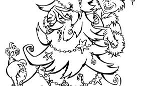 Small Picture Coloring Pages Grinch Sheets To Print For Kids When He Was Little