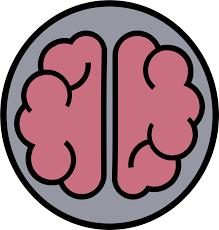 Clipart - Brain Logo, Gehirn