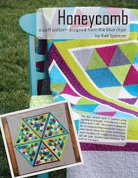 Terrific Traditions: Equilateral Triangle Quilts & Honeycomb Quilt Pattern - Craftsy.com Adamdwight.com