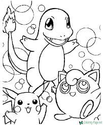 Pokemon coloring pages and pokemon pictures to color and print! Pokemon Coloring Pages