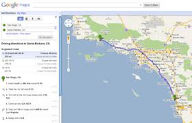 measuring distance between two points on google maps using