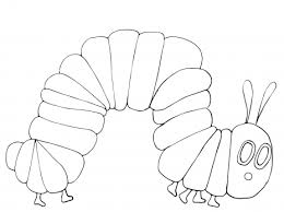 Small Picture Very Hungry Caterpillar coloring page Super Coloring Eric