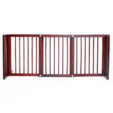 image is loading barkshirefreestandingwidepetgate105140cm wide pet gates k19