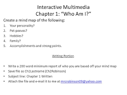 create a mind map of the following your personality pet  1 create