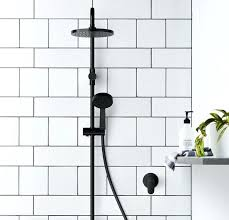 black shower head and taps uk twin matte at matte black shower head