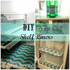 diy refrigerator shelf liners how to make fridge coasters with any old place mats and