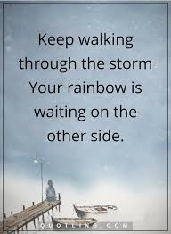 Comfort Quotes Classy Keep Walking Through The Storm Inspirational Quotes STORM QUOTES