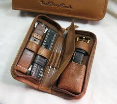 17 best ideas about watch straps leather projects new handmade watch strap cases from the strap smith the luxury bazaar blog<<