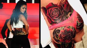 Cheryl Cole butt tattoo Tatted Up Pinterest Tatting and Tattoo