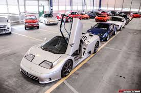 garage inside with car. A Peak Inside Garage Packed With 1100 Sports, Luxury And Classic Cars Car