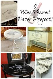 Wine Themed Decor 9 Wine Themed Decor Projects The Graphics Fairy