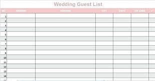 wedding list spreadsheet wedding invitation spreadsheet how to organize wedding guest list