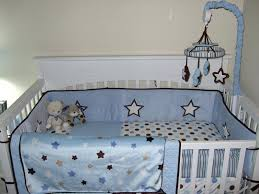 stars crib bedding moon and baby nursery set