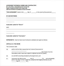 Template Of A Contract Between Two Parties Download Now Template For Agreement Between Two Parties 11 Payment