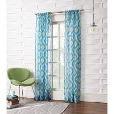 lichtenberg sheer marine no 918 millennial marvin ikat crushed sheer curtain panel 50 in