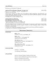 Oncology Rn Resume Oncology Resume New Grad Nursing Clinical Experience Sample For