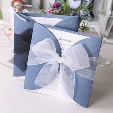 Wedding Invitation Card With Ribbon 590x590 Creative Wedding