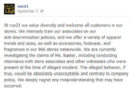 Oregon Teen Claims Rue21 Kicked Her Out Because Of Her Size