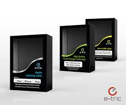 Mobile Charger Packaging Design Elegant Serious Environment Packaging Design For A Company