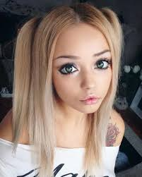 anime eyes makeup before after. In Anime Eyes Makeup Before After