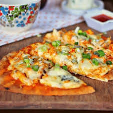 buffalo en flatbread pizzas recipe