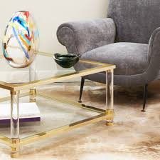 Antique Brass Glass Coffee Table Labarge Coffee Table Like This Item Gorgeous Midcentury