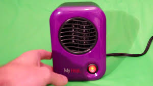Portable Battery Powered Heater Lasko My Heat Personal Ceramic Heater Review Youtube