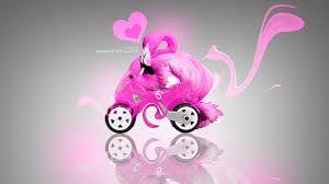 toy fantasy flamingo moto